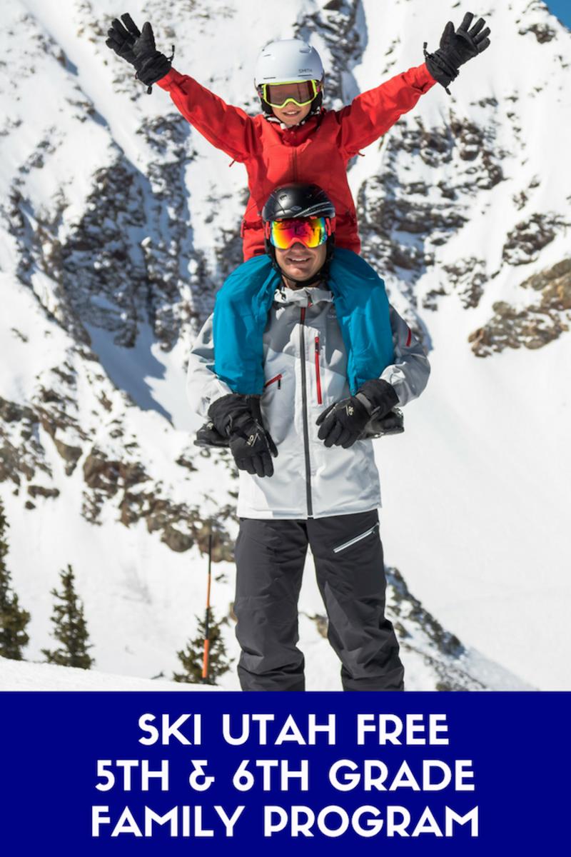 Ski Utah Free Utah 5th Grade #skiing #skiutah #familyski