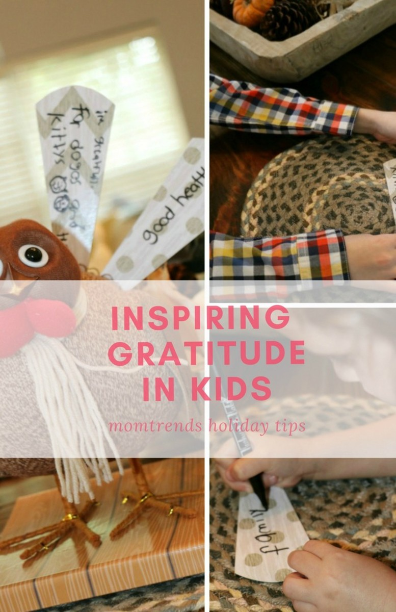 inspring gratitude in kids
