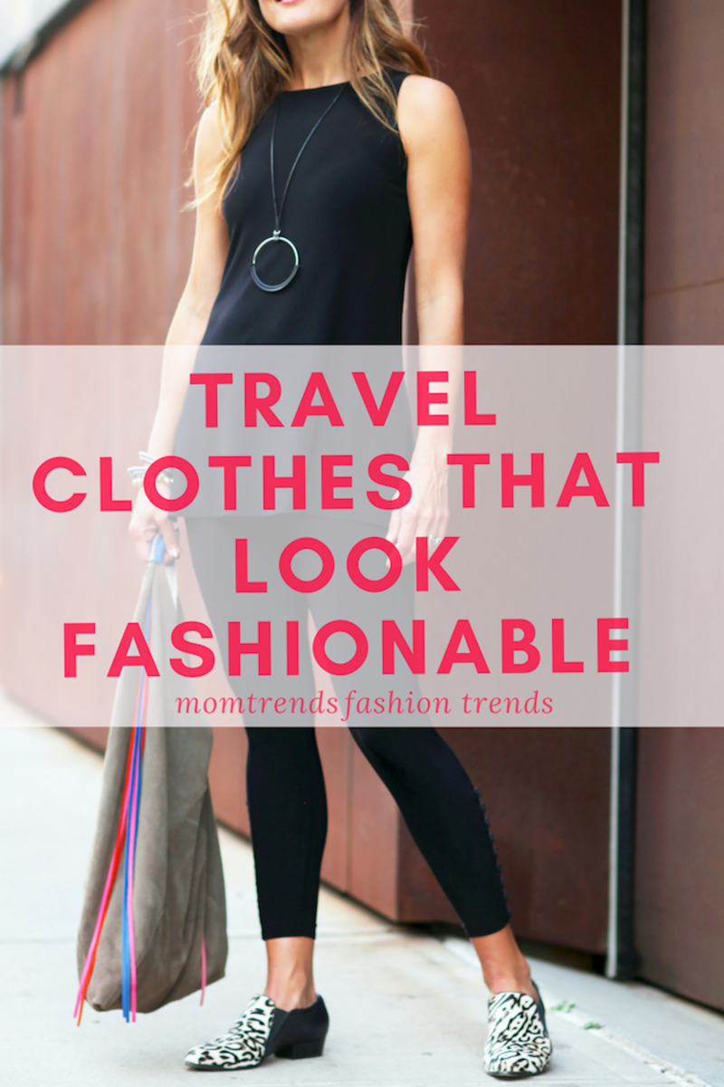 Fashionable Travel Clothes #travelstyle #fashion