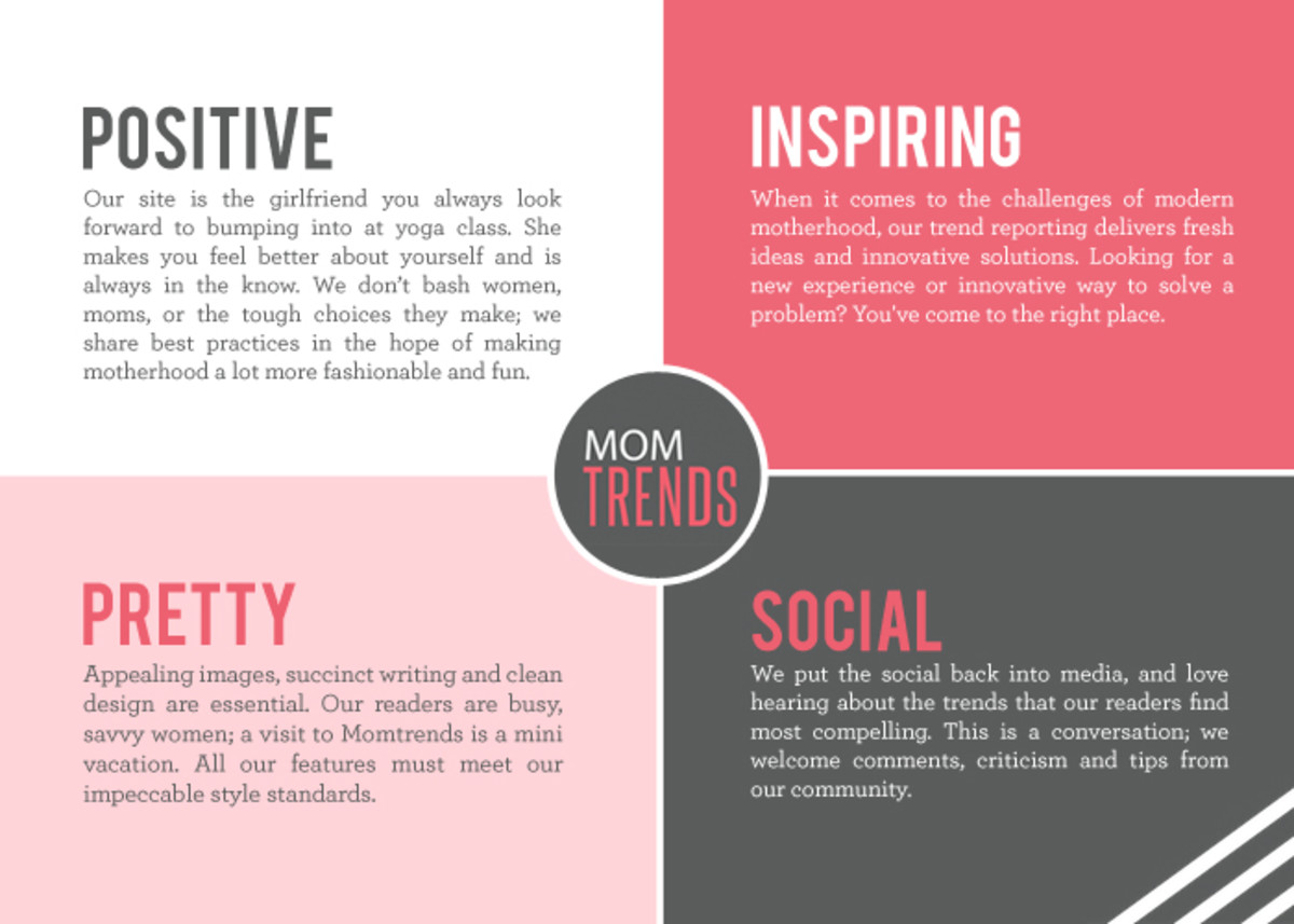 Momtrends Mission Statement