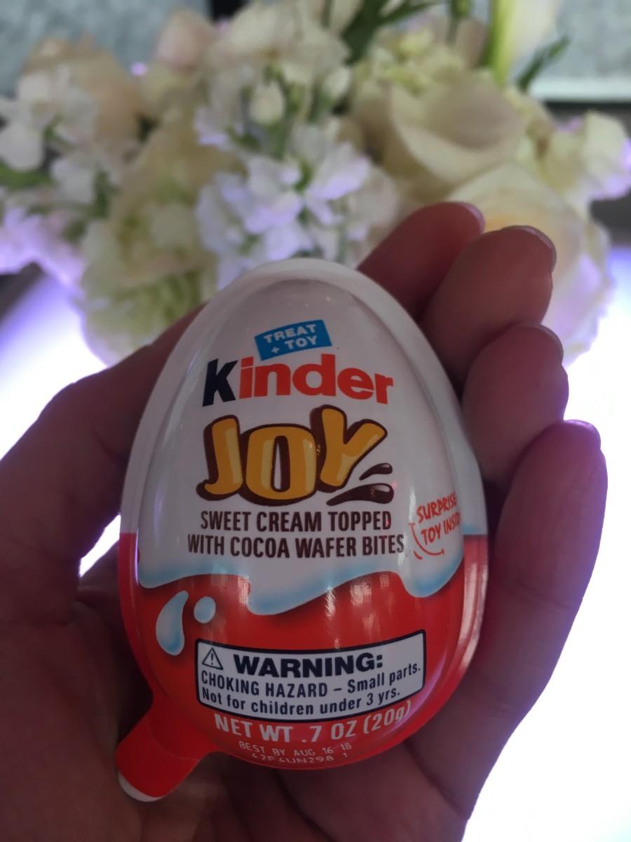 Kinder Joy Arrives, USA kinder egg