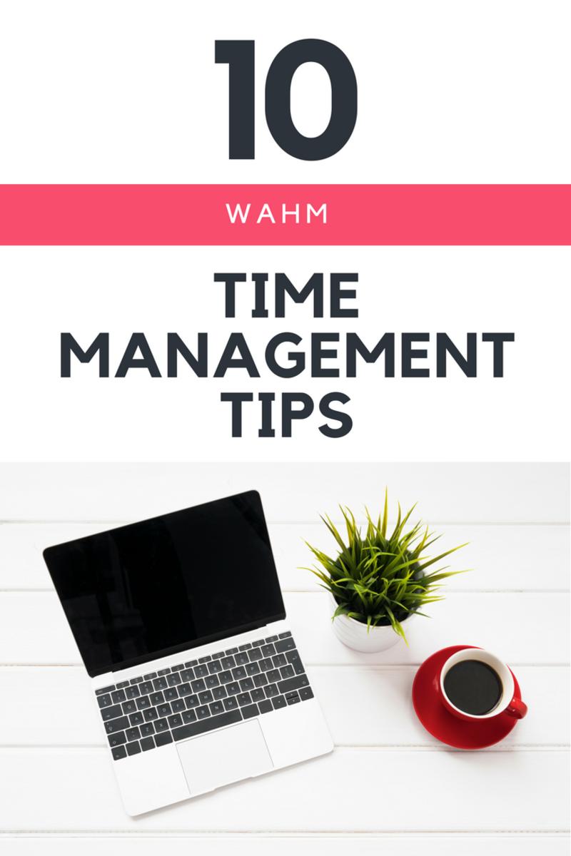 Side hustle tips for moms, time management, WAHM tips
