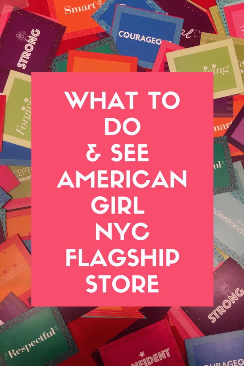 American Girl Flagship Store New York City, american girl
