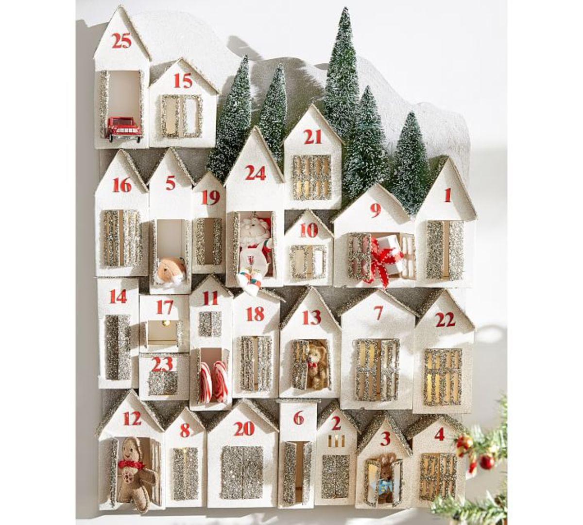 Glitter Advent Calendar, $129