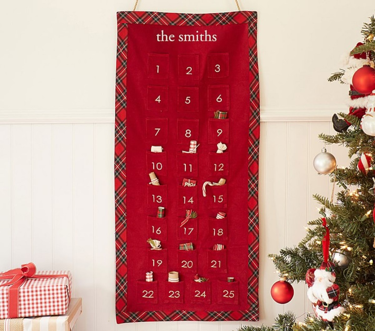 Luxe Velvet Advent Calendar, $69