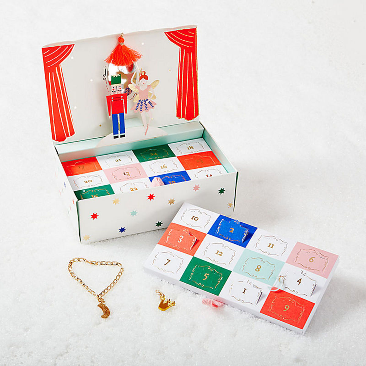 Nutcracker Ballet Advent Calendar, $33