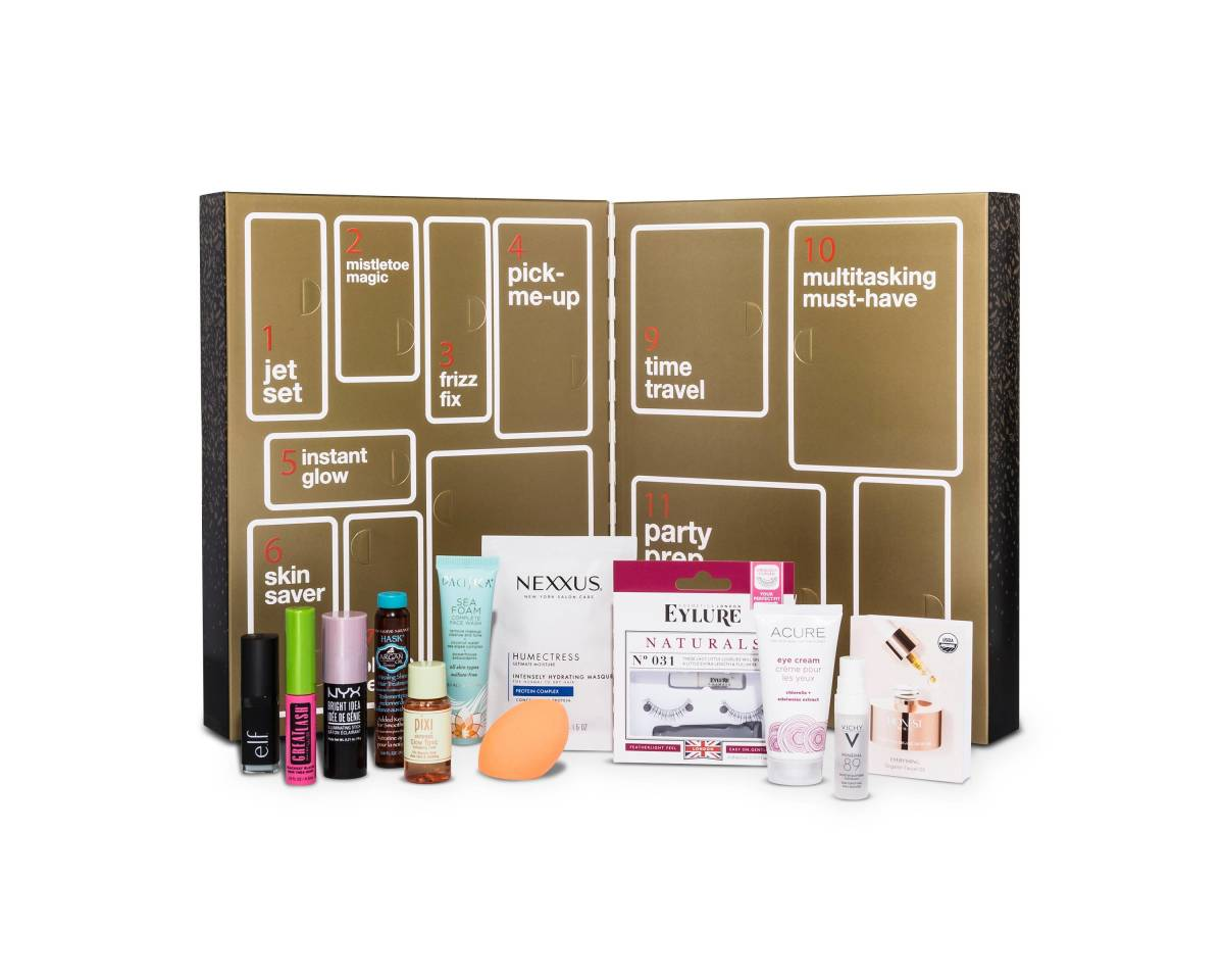 12 Days of Beauty Advent Calendar, $15