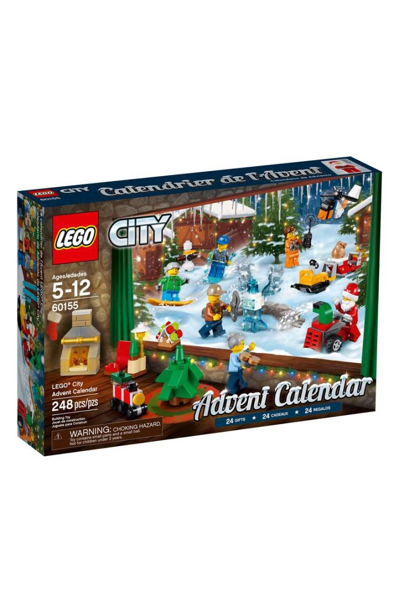 Lego Holiday Advent Calendar, $60