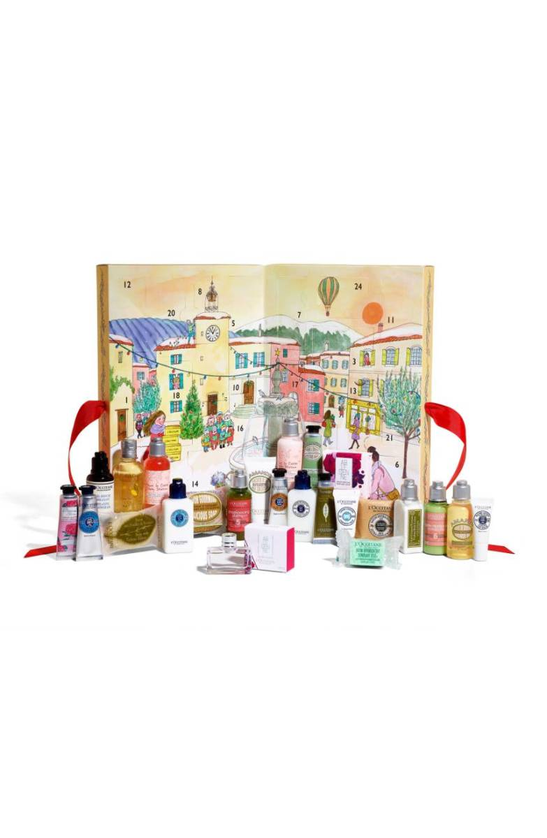 Loccitane Beauty Advent Calendar, $60