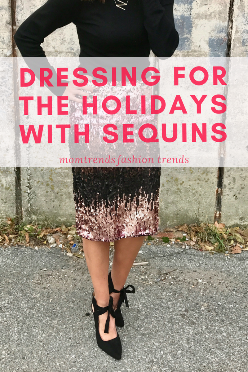 Prefect Sequin Skirt for the Holidays