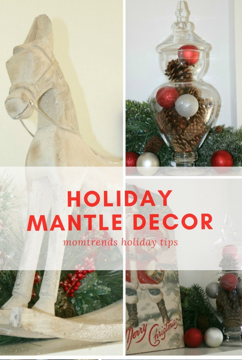 holiday mantle decor ideas