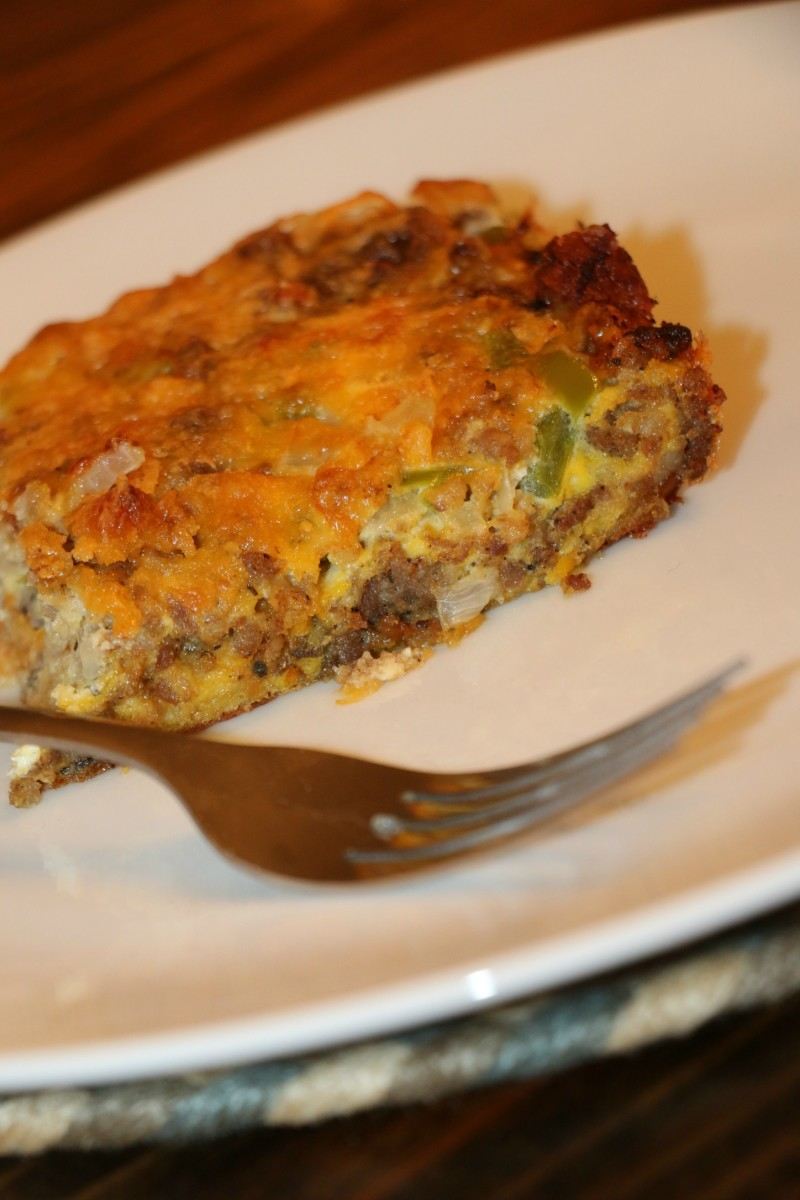 egg bake casserole recipe