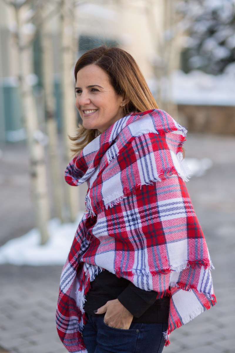 Trendy Winter Blanket Scarves