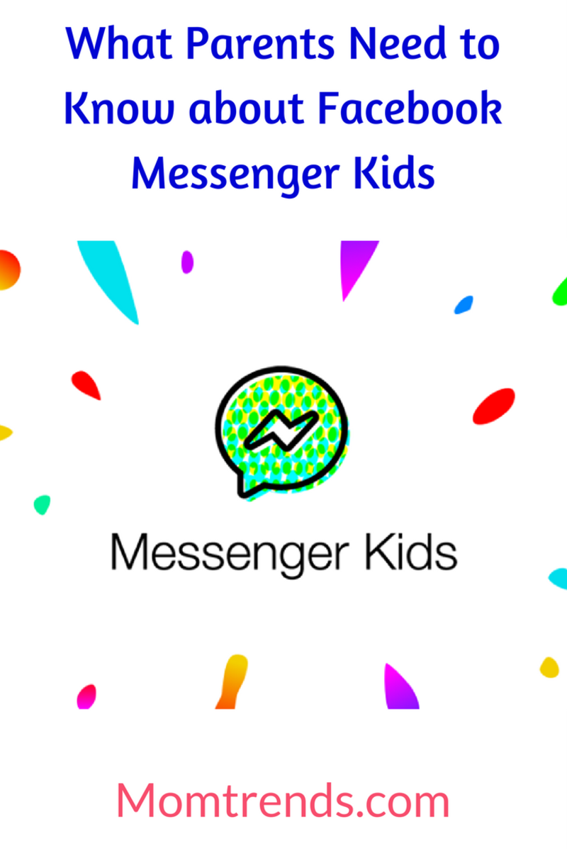 #socialmedia what parents need to know about Facebook Messenger Kids App