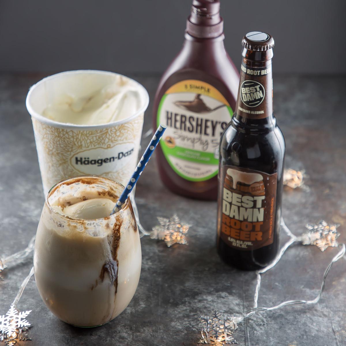 Boozy Root Beer Float Ingredients