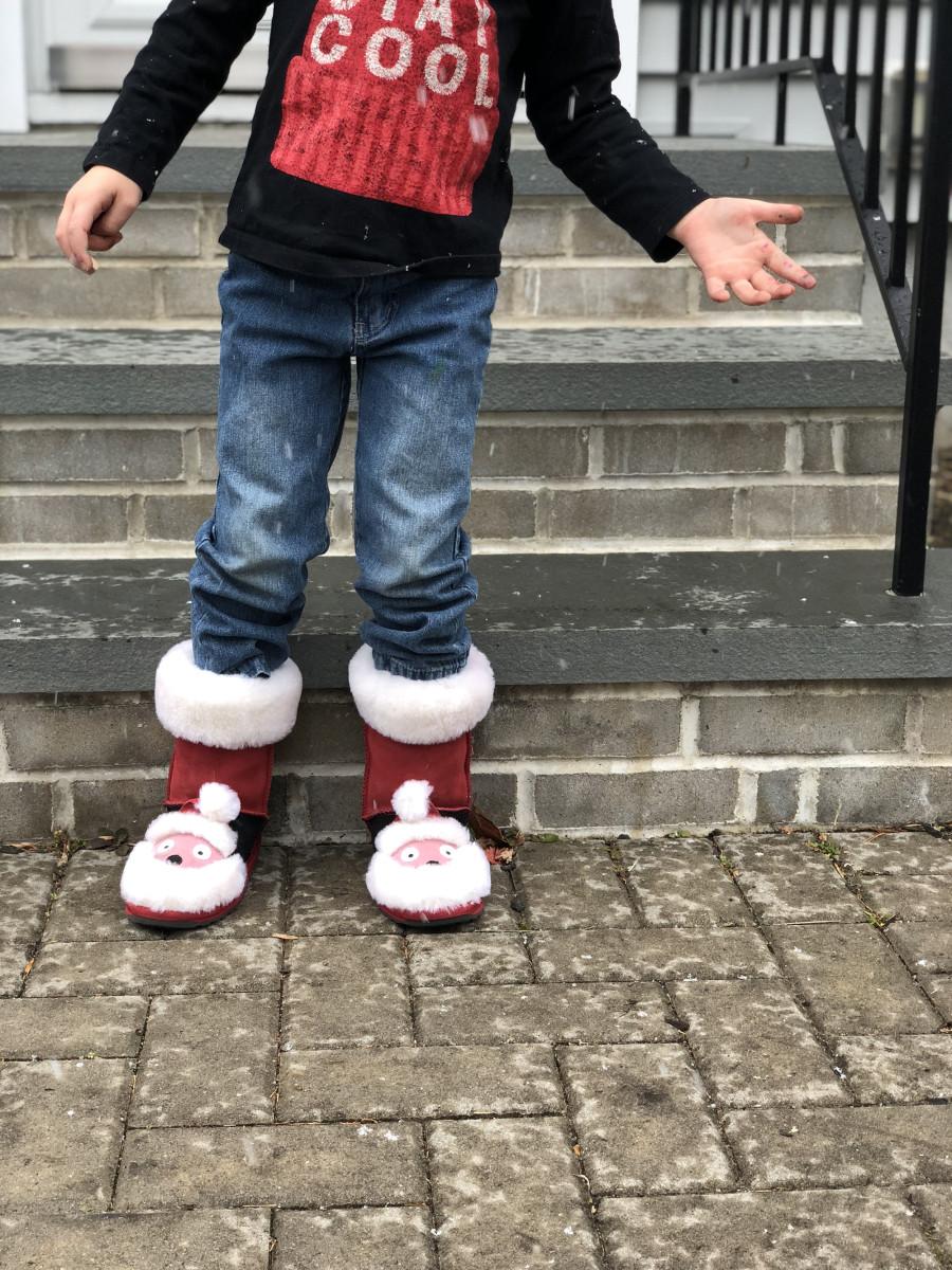 emu santa boots