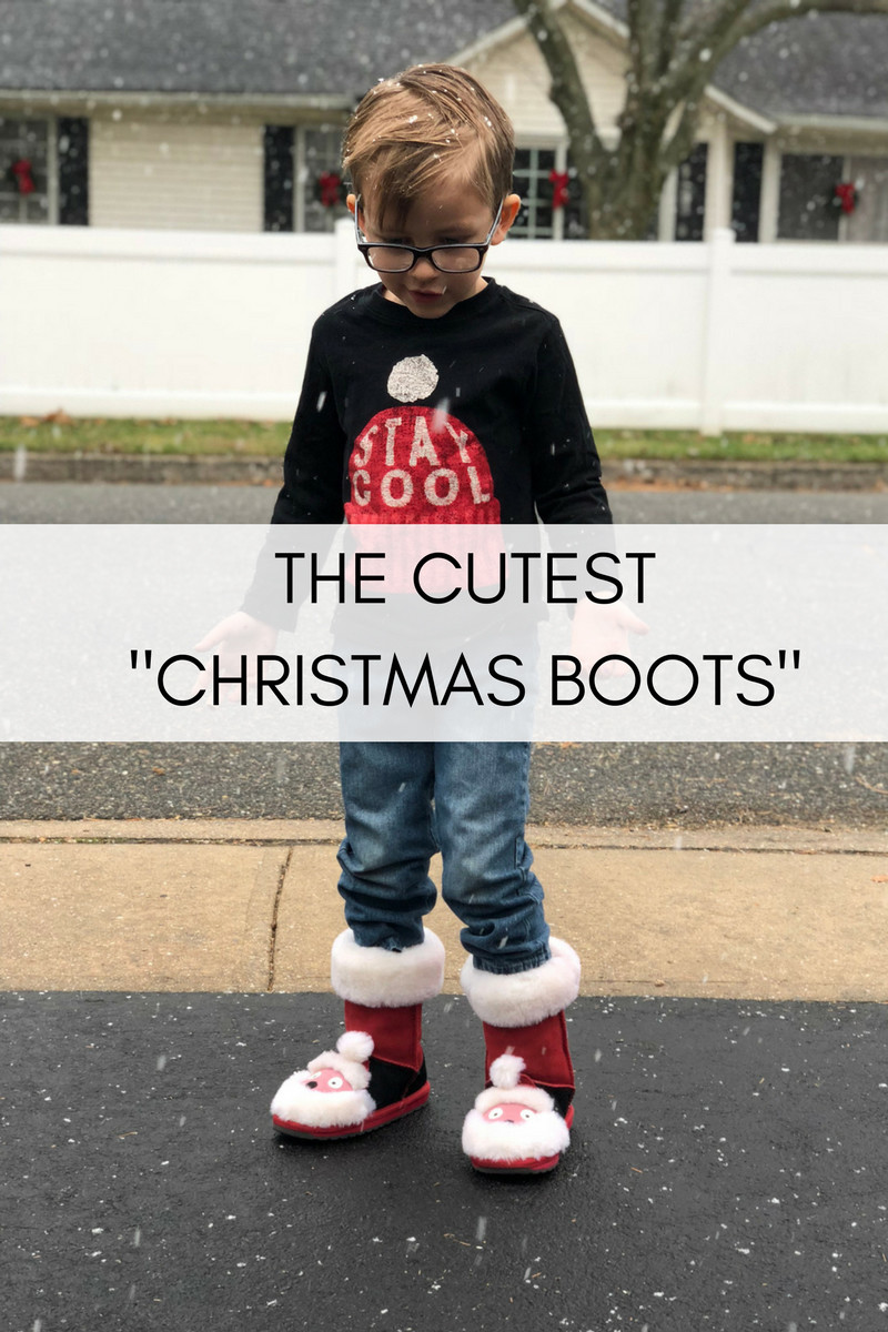 CUTEST CHRISTMAS BOOTS