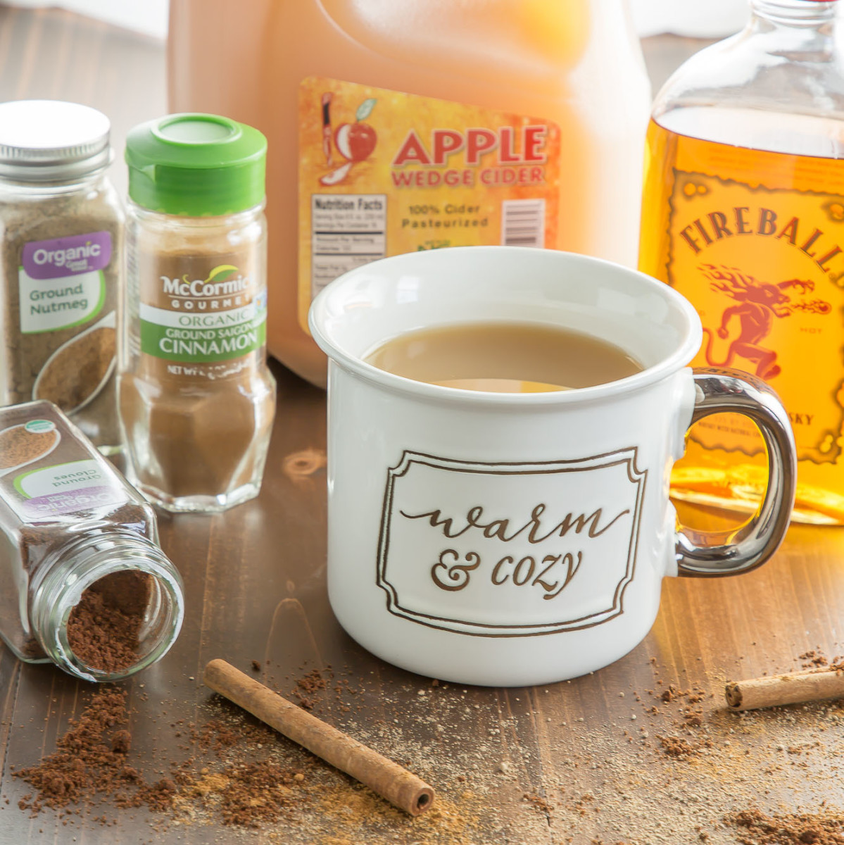 Hard Apple Cider Recipe Ingredients