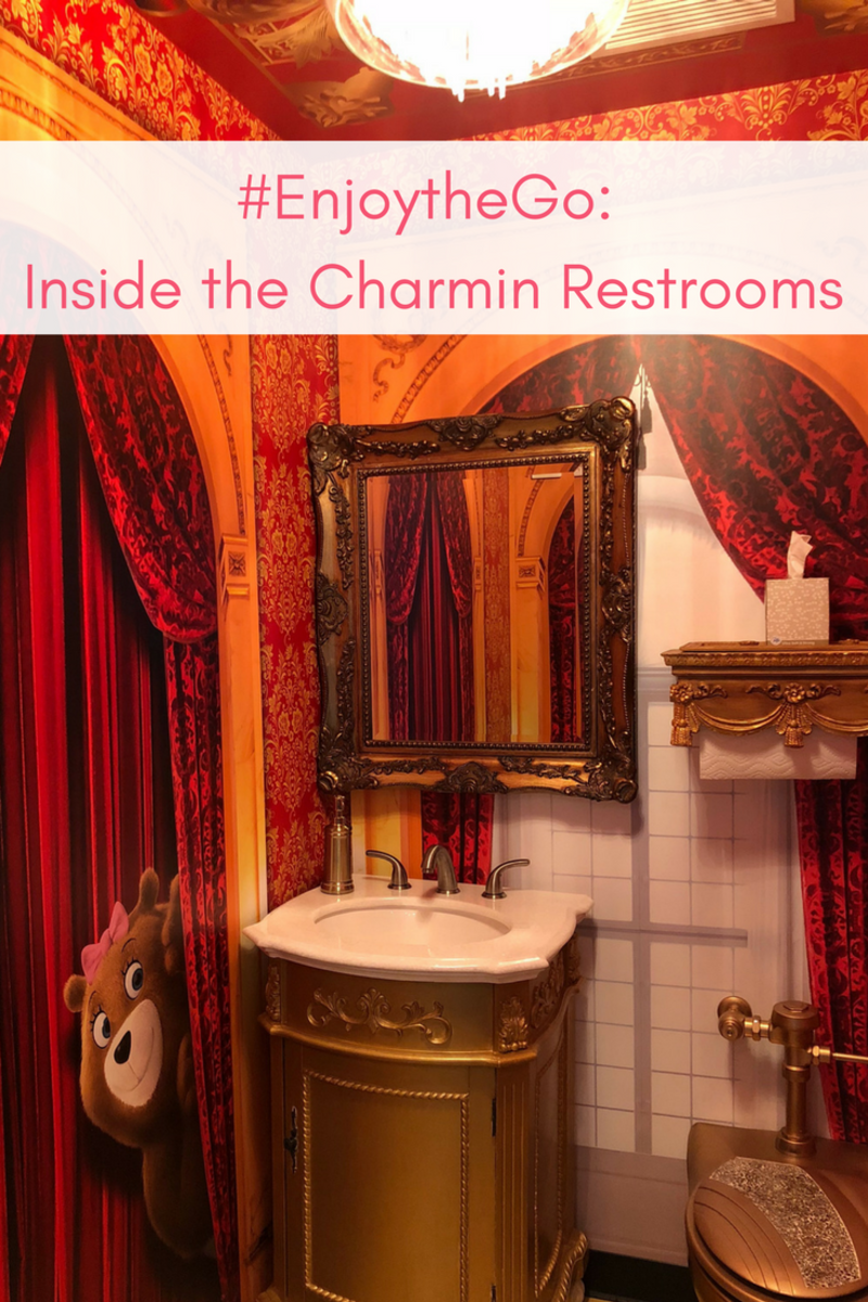 #EnjoytheGo_ Inside the Charmin Restrooms
