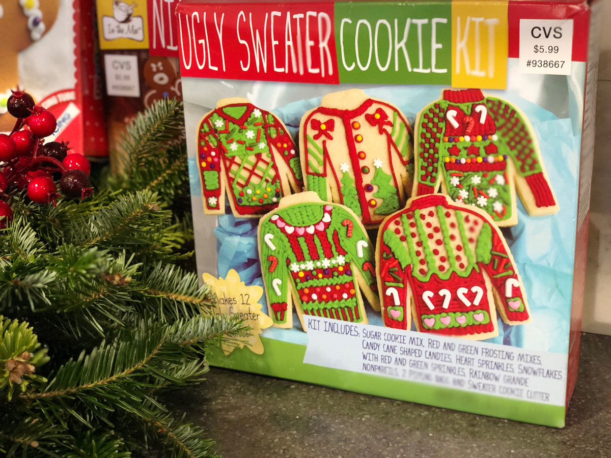 cvs ugly sweater cookie kit