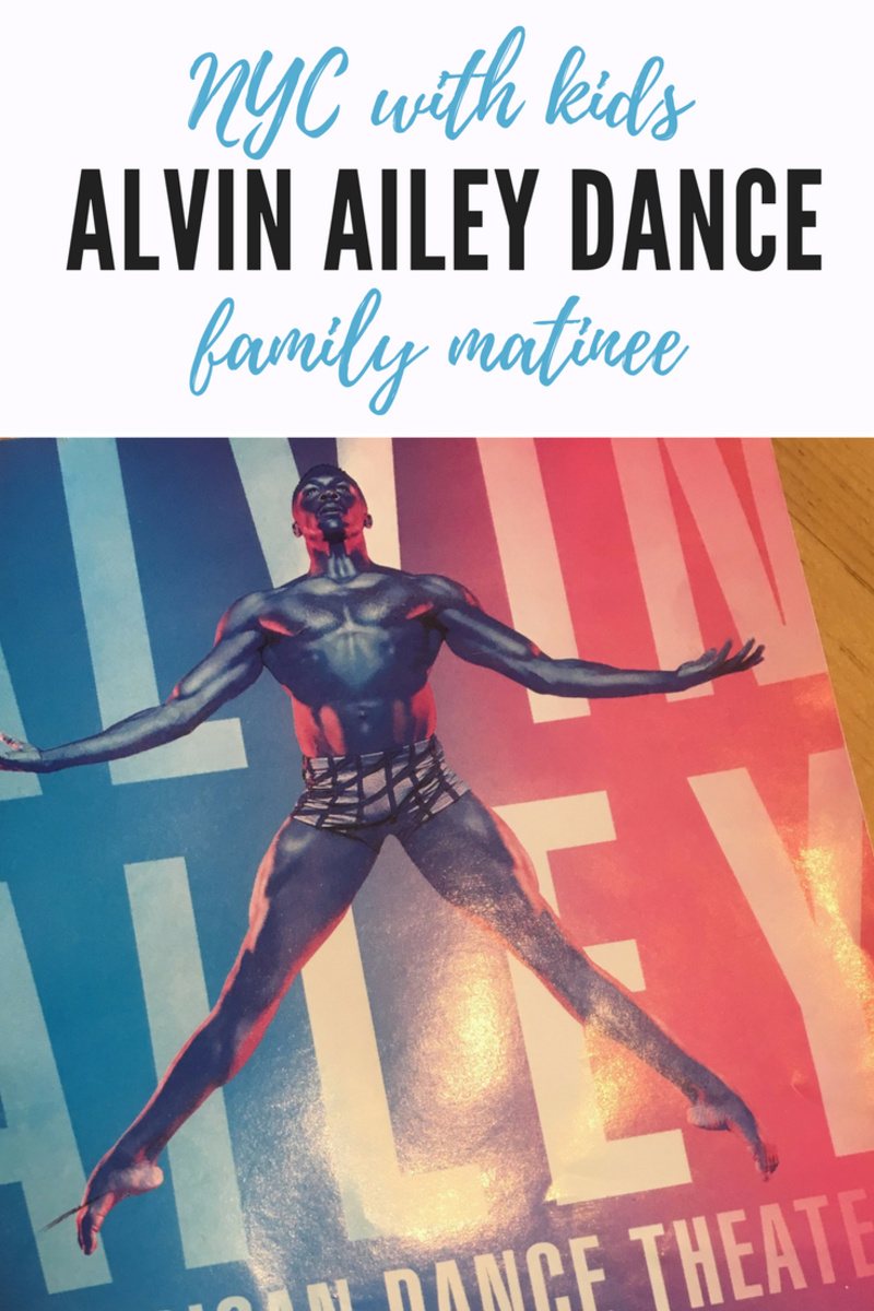 Alvin Ailey Family Matinee #nycculture #nyctrips #nyctripplanning