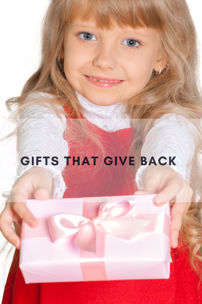 giving gifts, gifts that give, holiday gift giving, generous donations, donations, gifts that give back