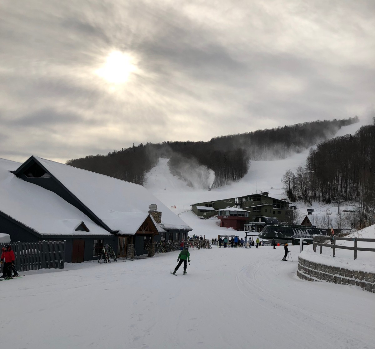getting started on your sugarbush ski day