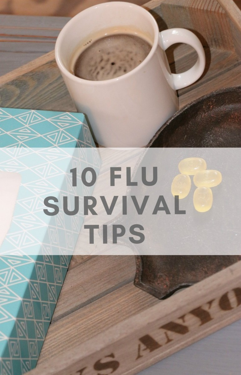 how to get relief from the flu