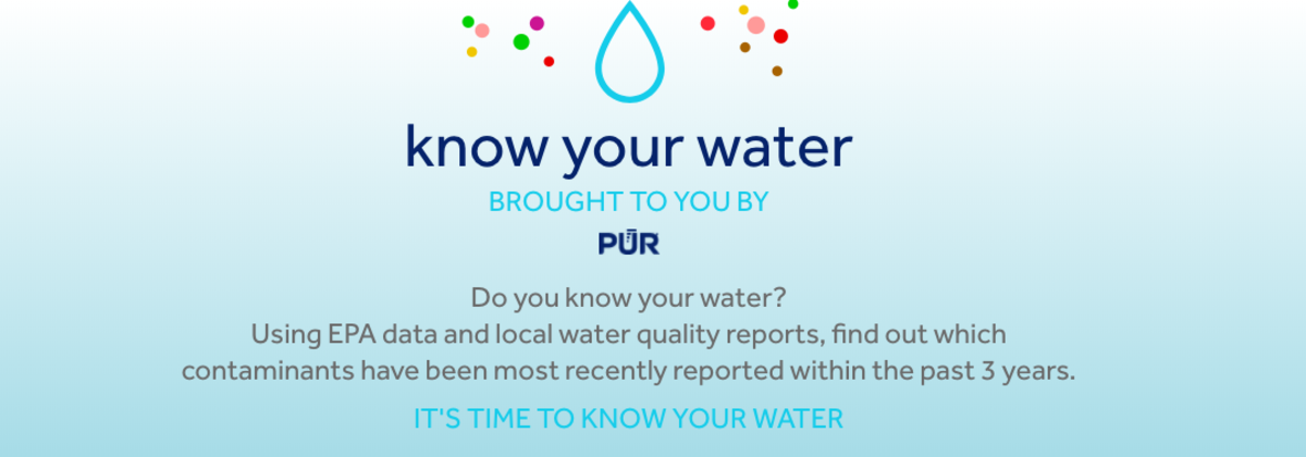 know your water