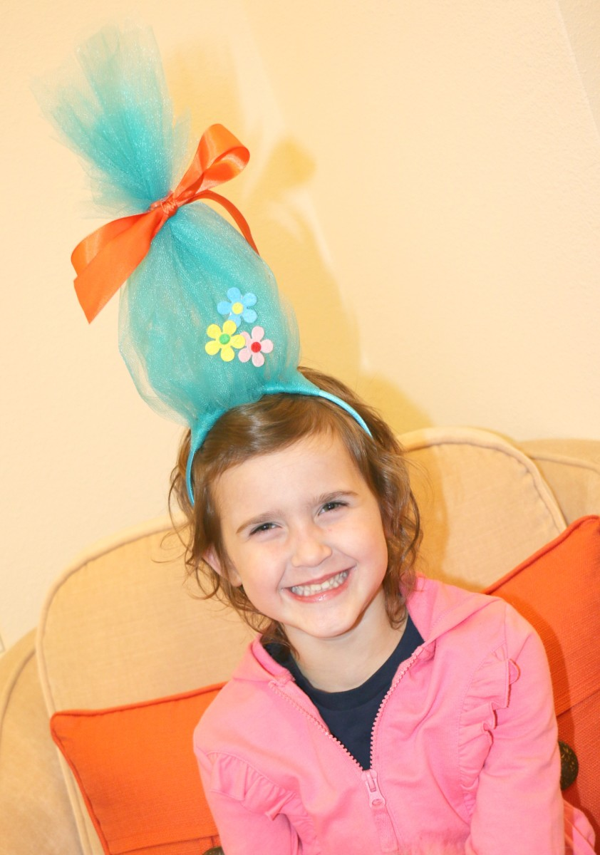 diy trolls headband project