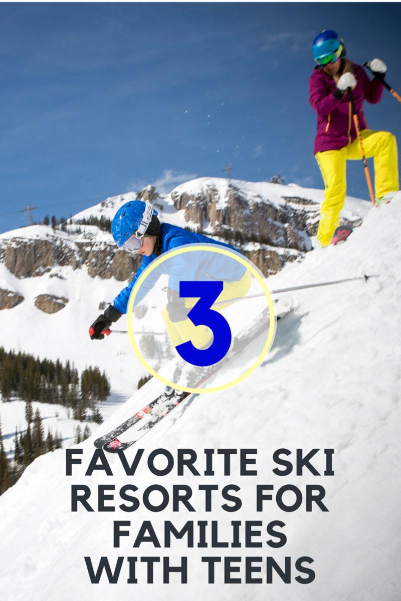Where to ski with teens
