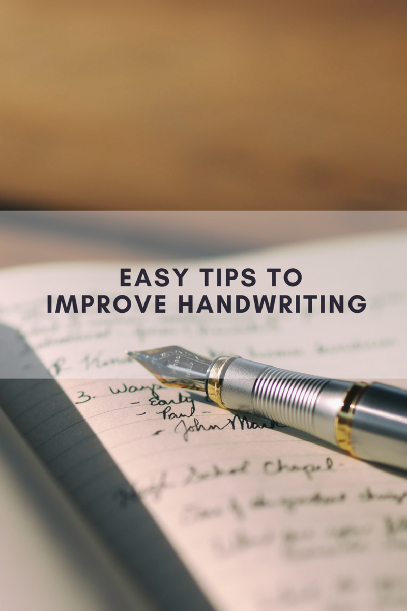 handwriting tips, tips for handwriting improvement, handwriting skills, fine motor skills, national handwriting day, easy tips to improve handwriting