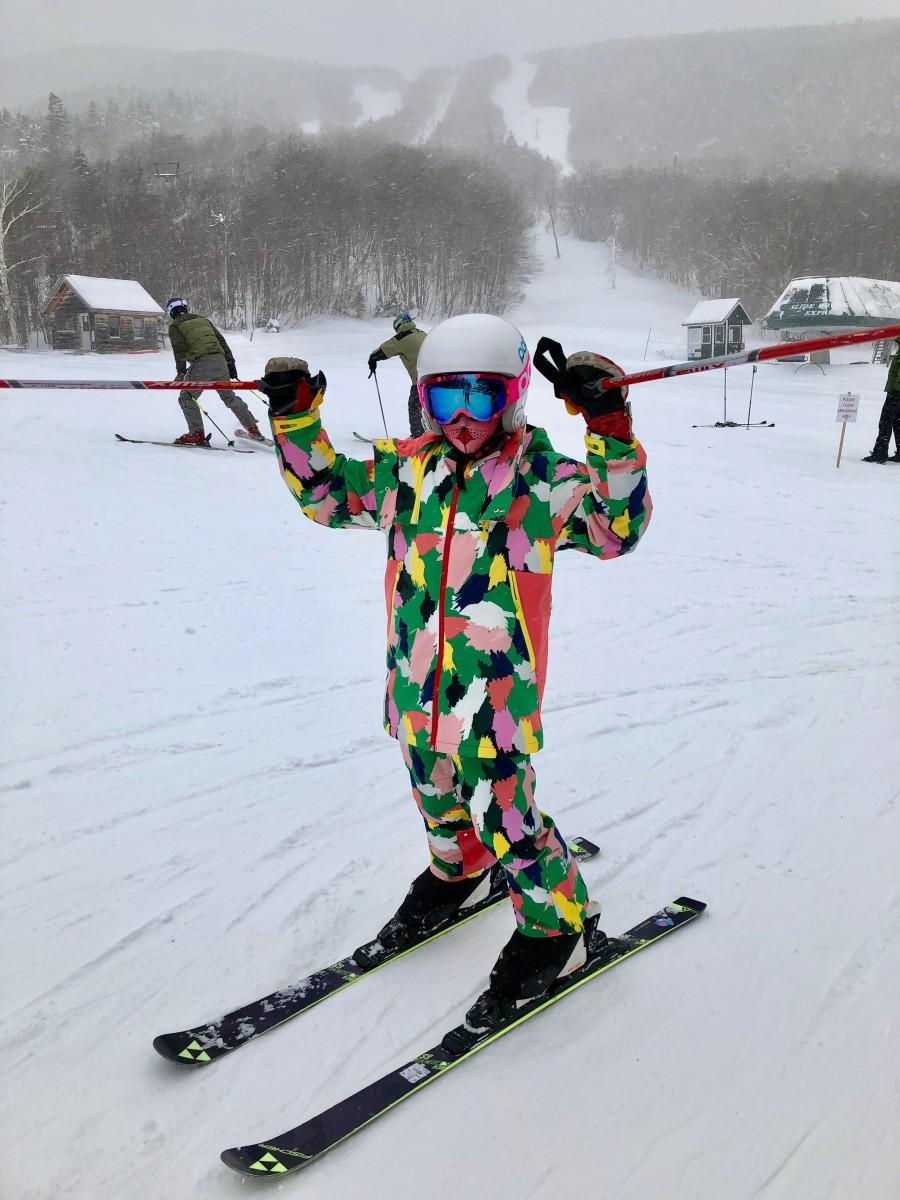 Stella McCartney Snow Fashion