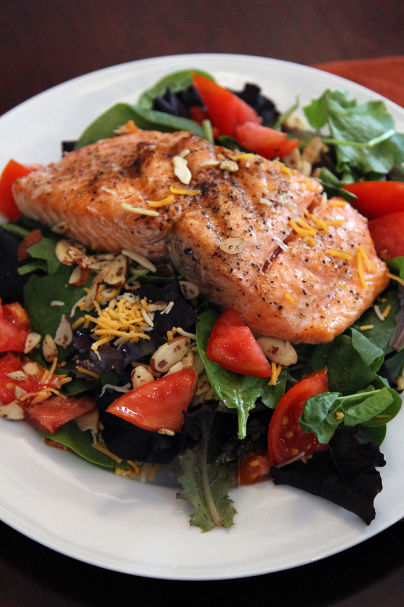 salmon salad recipe for dinner