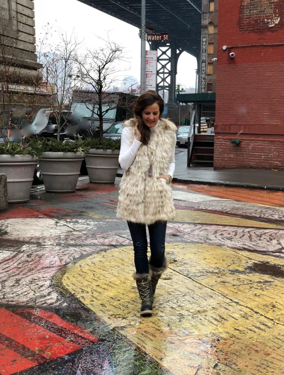 Winter Style Trend Faux Fur