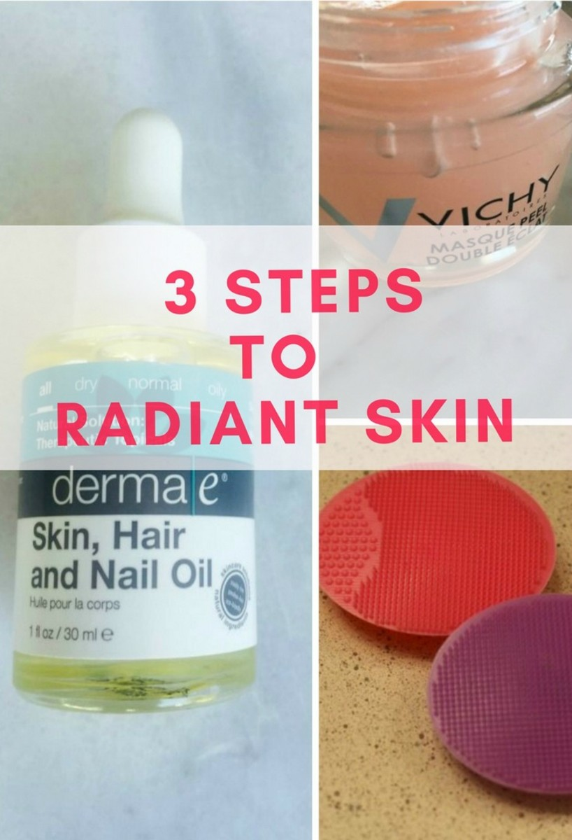 3 steps to radiant skin