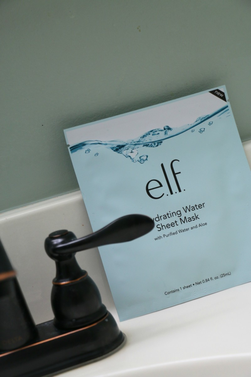 hydrating water sheet mask