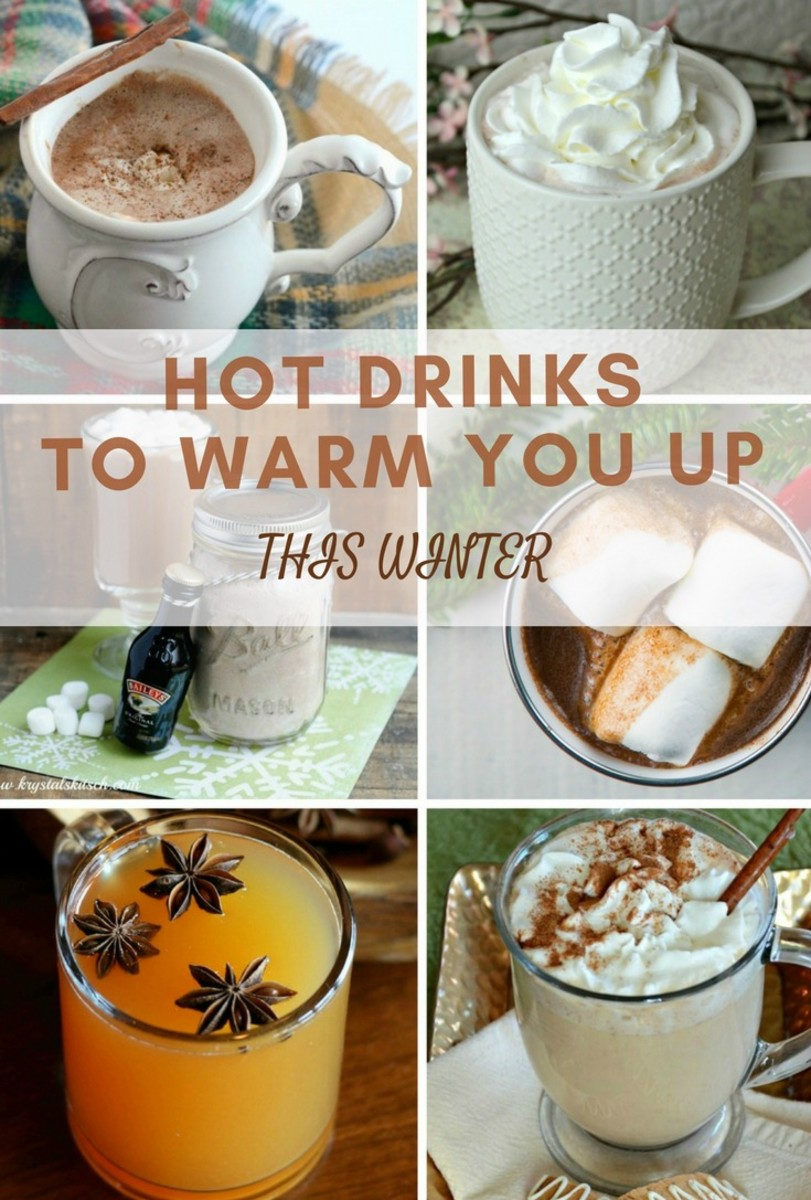 hot drinks to warm you up this winter