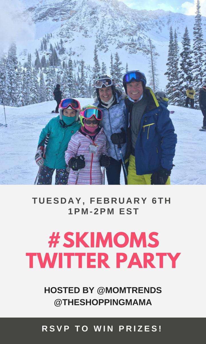 #Skimoms twitter party