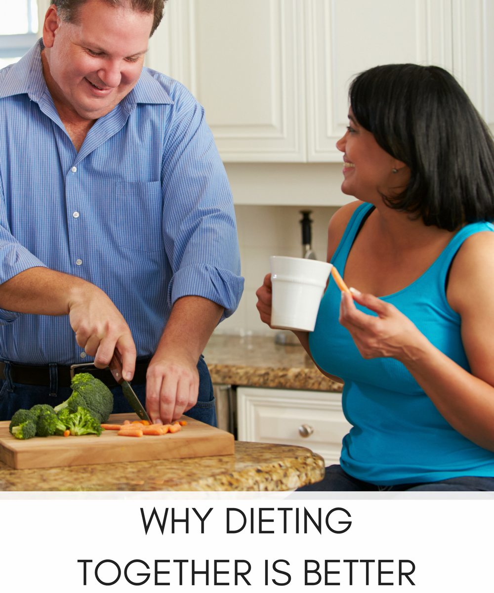 WHY DIETING TOGETHER IS BETTER