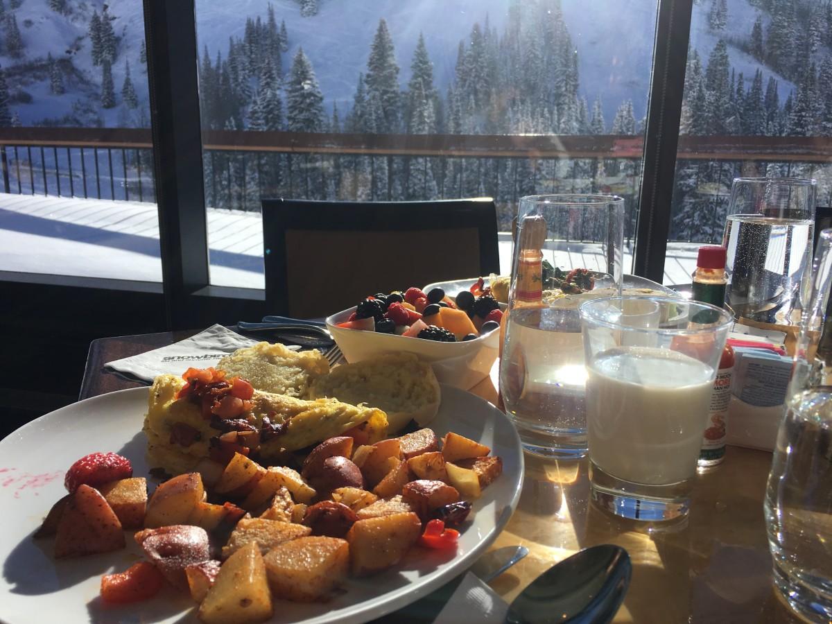 ski breakfast