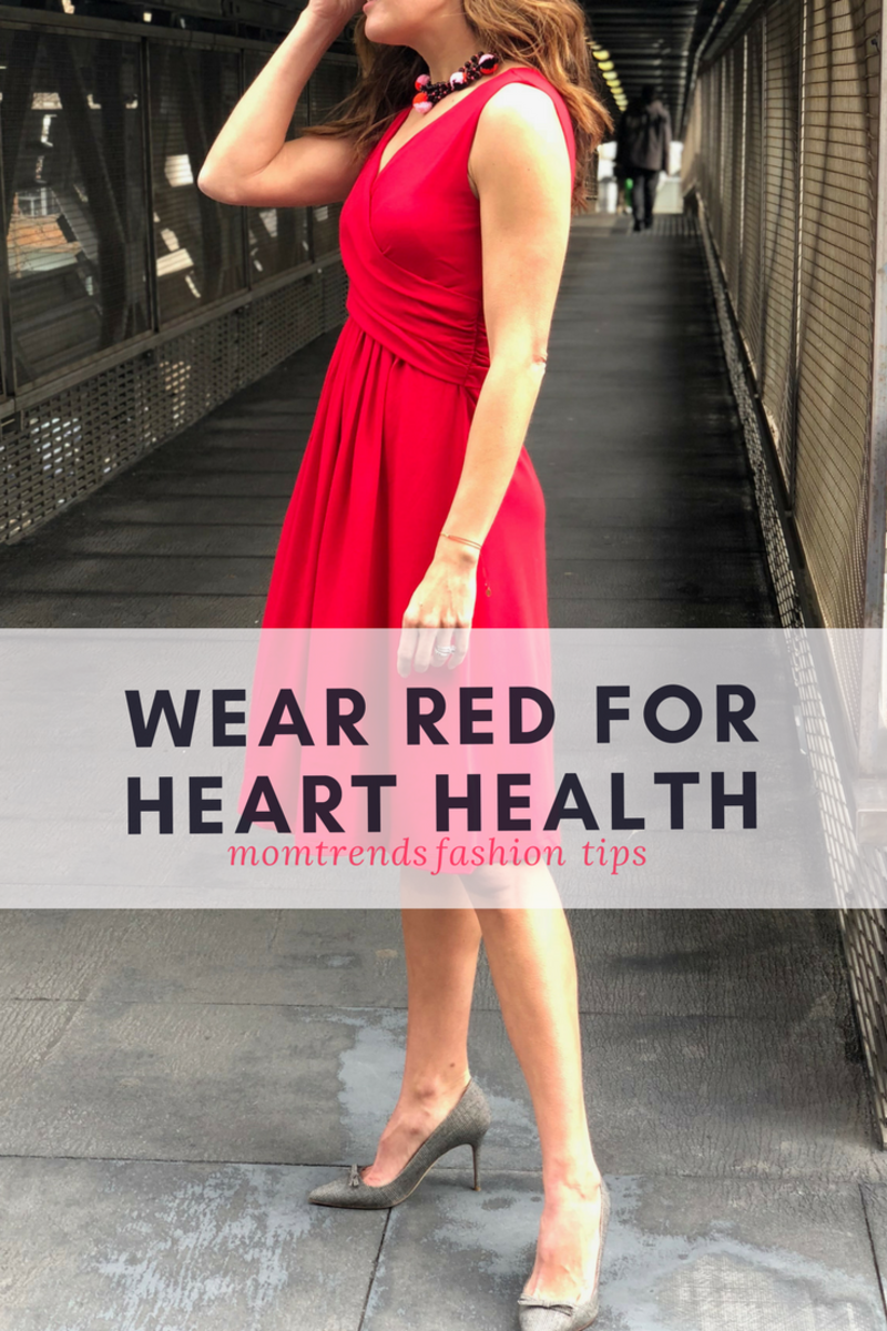 Wear red for heart health