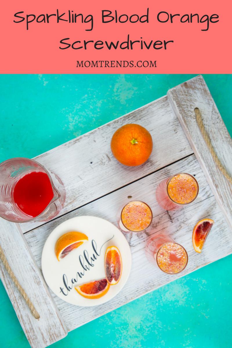 Sparkling Screwdriver Cocktail Recipe