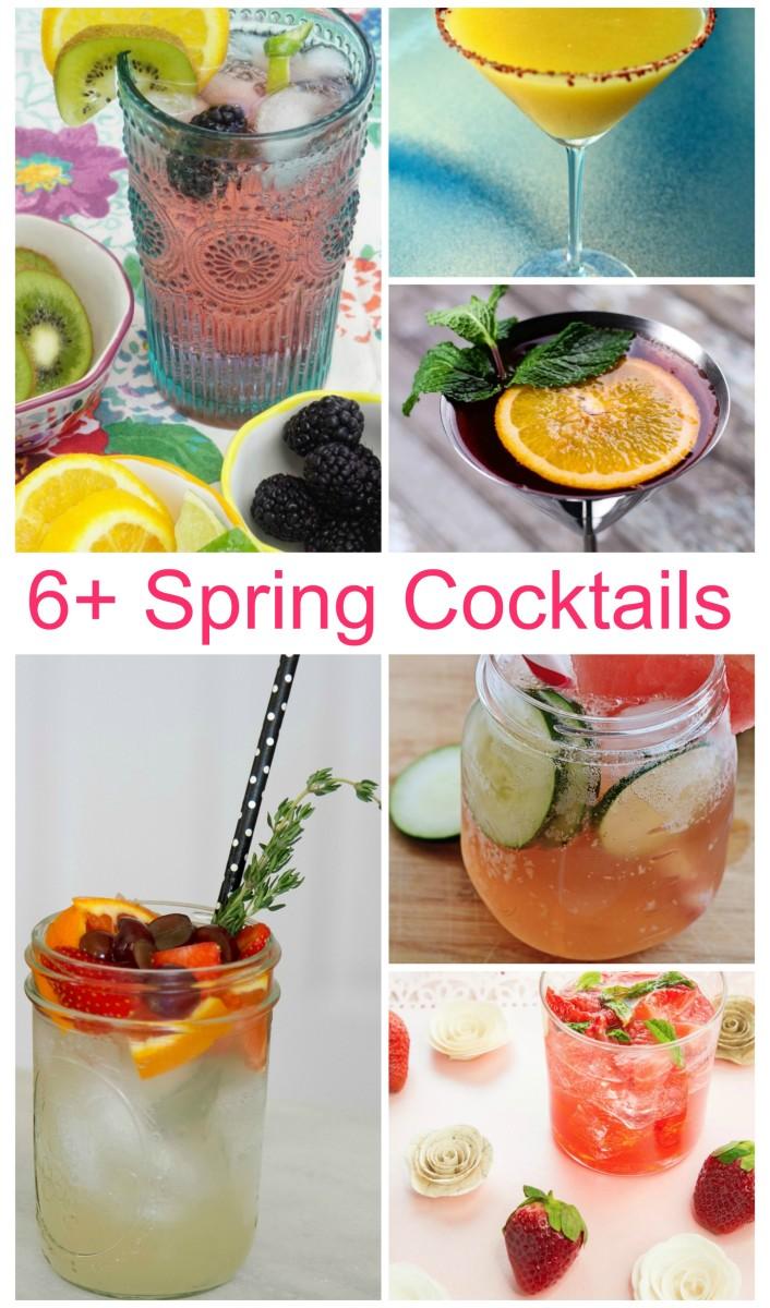 fresh spring cocktails