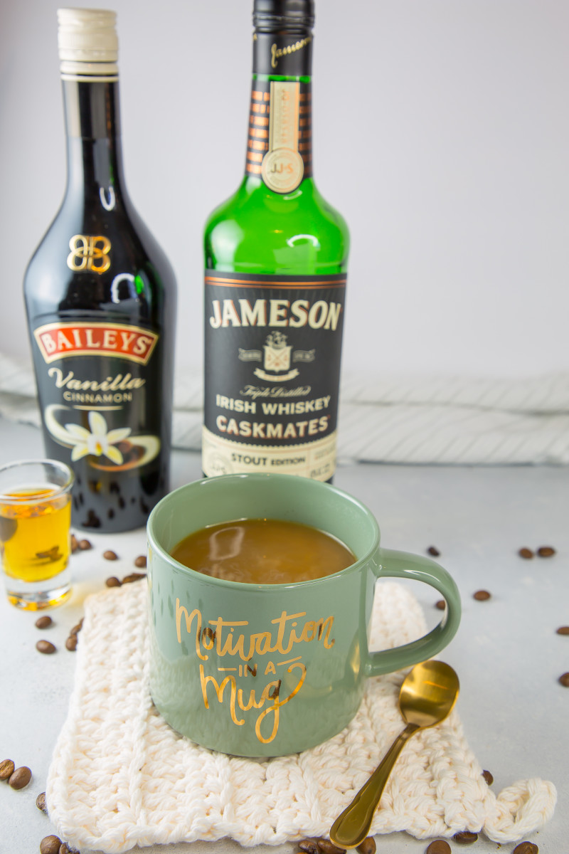 Irish coffee cocktail ingredients