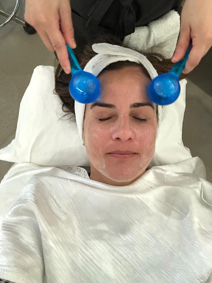 Checkin out Facehaus spa facial