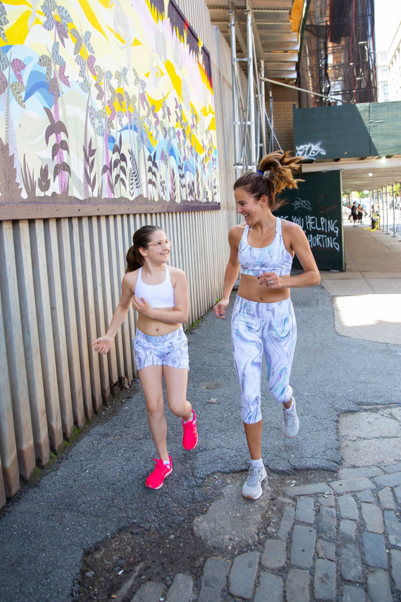 Getting the family fit in style with Athleta and Athleta Girl