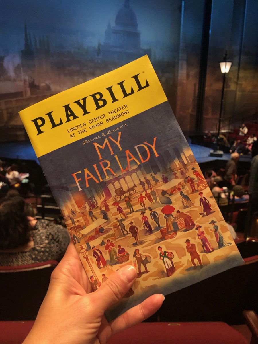 Family Fun My Fair Lady NYC Musical Lincoln Center
