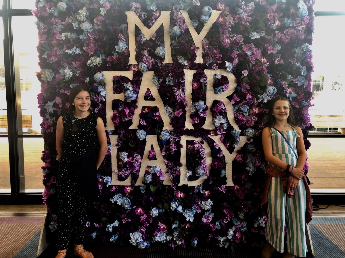 Family Fun My Fair Lady NYC Musical