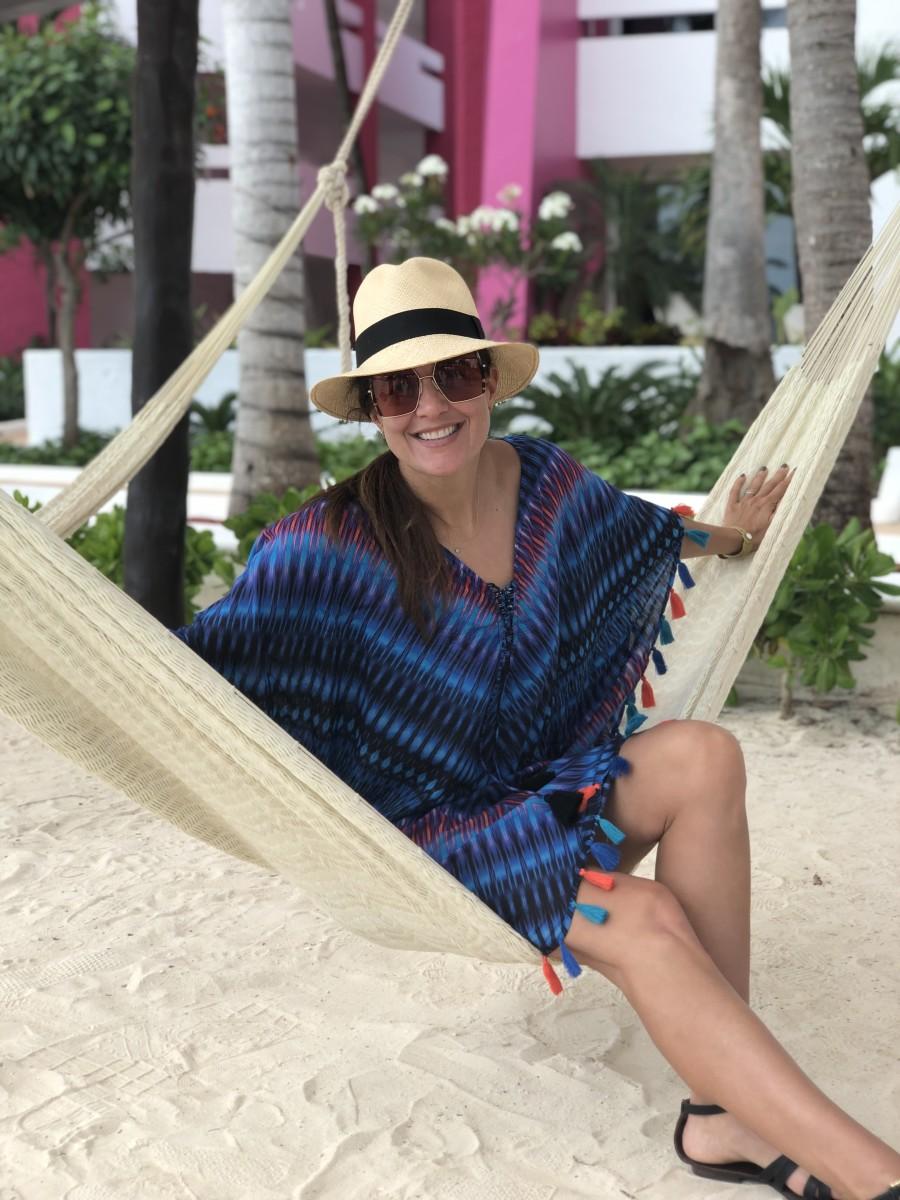 Fun Summer Caftan for Beach Vacations